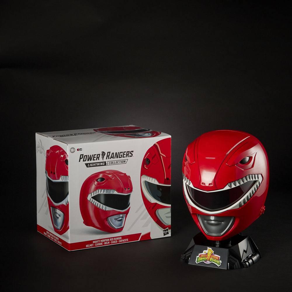 Descriptivo Temeridad marioneta  POWER RANGERS LIGHTNING COLLECTION MIGHTY MORPHIN RÉPLICA 1/1 CASCO RED  RANGER - Toys Store